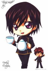 Chibi(?!) Lelouch and Suzaku